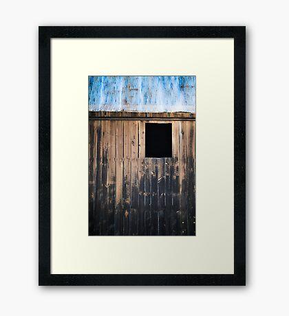 aged beauty Framed Print