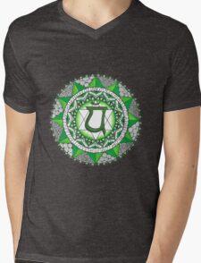 The Heart Chakra Mens V-Neck T-Shirt