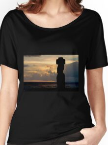 Easter Island Sunset Women's Relaxed Fit T-Shirt