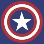 Captain America Shield on the back by wengus