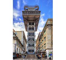 Santa Justa Elevator Photographic Print