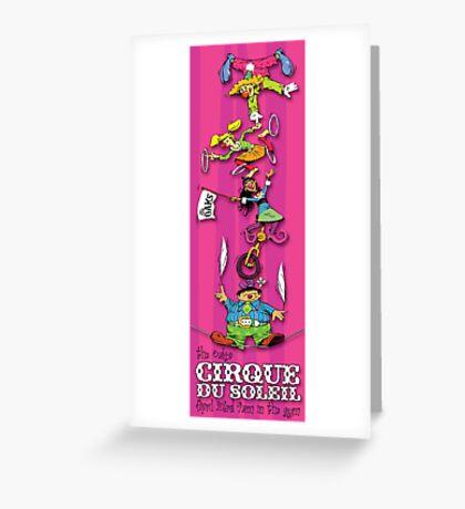 TOS Cirque De Soleil 2012 B Greeting Card