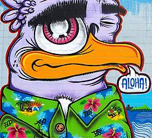 Pow Wow Hawaii Art Mural .2 by Alex Preiss