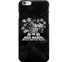 Mad Mario: Beyond Another Castle iPhone Case/Skin