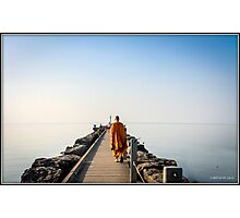 Walk on the Pier Photographic Print