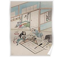 Jūichidanme   act eleven of the Chūshingura   searching the house 1 001 Poster