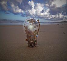 A Bright Idea Can Be Anywhere by Blake  Mckenzie