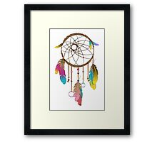 Dreamcatcher a Fashion Illustration Framed Print