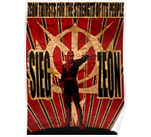 Sieg Zeon Poster