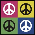 """Peace """" Multicolored Peace Signs """" by T-ShirtsGifts"""