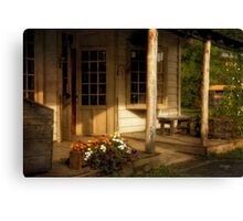 Old Bedford Village General Store Canvas Print
