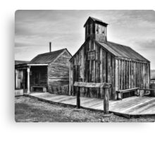 Old West Hitching Post Canvas Print