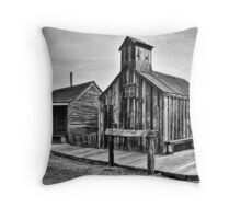 Old West Hitching Post Throw Pillow