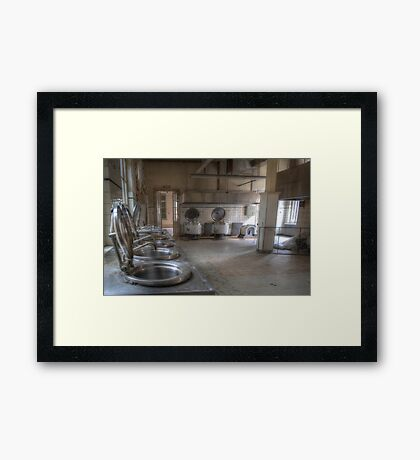 For the big eaters Framed Print