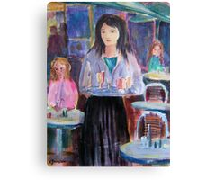 Coffee Delights  Canvas Print