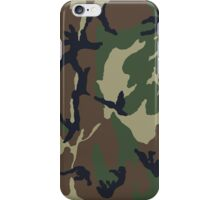Woodland Camo iPhone Case/Skin