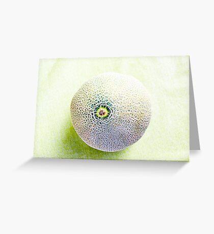 Muskmelon VRS2 Greeting Card