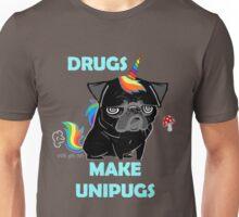 black unipug Unisex T-Shirt