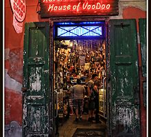 Welcome to Rev Zombie's House of Voodoo by Mikell Herrick