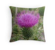 Nettle Flower Throw Pillow