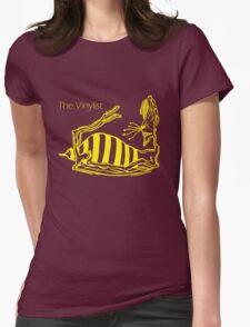 Drunken Yellow Wasp Womens Fitted T-Shirt