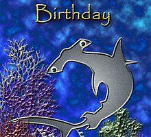 Happy Birthday Hammerhead Shark by jkartlife
