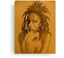 Lauryn hill Canvas Print