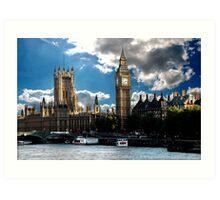 London sky Art Print