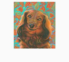 Loverly Long-haired Dachshund  Unisex T-Shirt