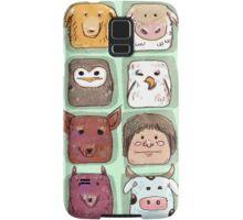 We are all animals, go veg!  Samsung Galaxy Case/Skin