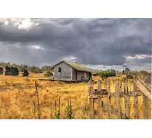 Deserted Railway Station Nimmitabel NSW Rural Goods Shed Photographic Print