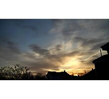 Feb. 5 2013 Sunset 6 Photographic Print