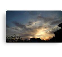 Feb. 5 2013 Sunset 7 Canvas Print