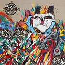 Pow Wow Hawaii Art Mural .5 by Alex Preiss