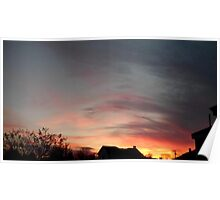 Feb. 5 2013 Sunset 10 Poster