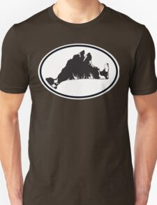 Martha's Vineyard Car Sticker T-Shirt
