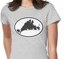 Martha's Vineyard Car Sticker Womens Fitted T-Shirt