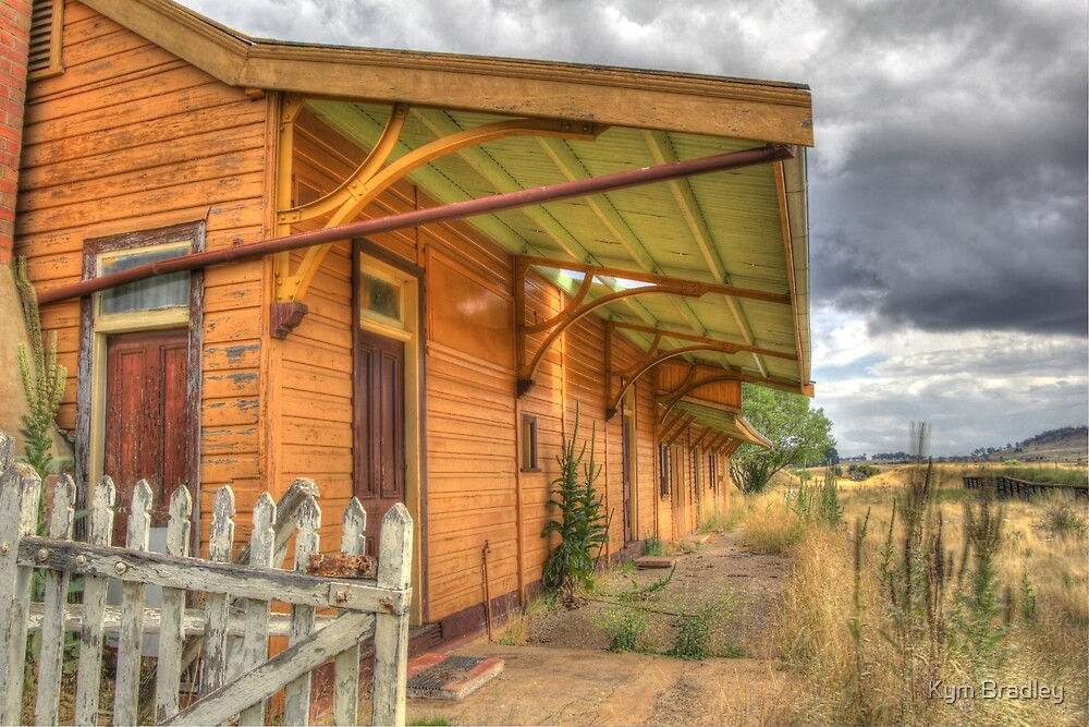 Deserted Railway Station Nimmitabel NSW  by Kym Bradley