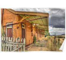 Deserted Railway Station Nimmitabel NSW  Poster