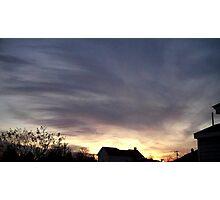 Feb. 5 2013 Sunset 17 Photographic Print