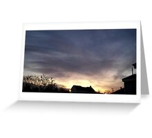 Feb. 5 2013 Sunset 18 Greeting Card