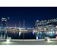 Docklands, Webb Bridge, Melbourne Photographic Print