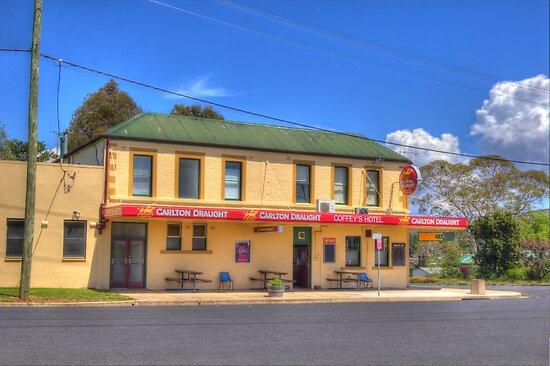 Coffey's Hotel Cooma  NSW by Kym Bradley