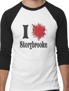 Once upon a time I love storybrooke Men's Baseball ¾ T-Shirt
