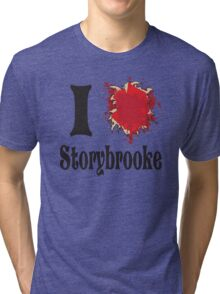 Once upon a time I love storybrooke Tri-blend T-Shirt