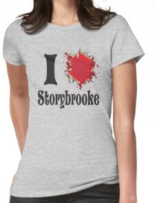 Once upon a time I love storybrooke Womens Fitted T-Shirt