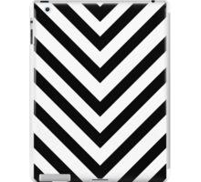 Black and white chervron phone skin iPad Case/Skin