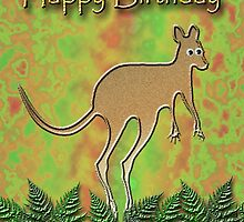 Happy Birthday Kangaroo by jkartlife