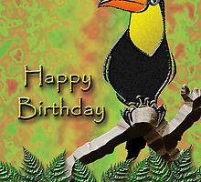 Happy Birthday Toucan by jkartlife