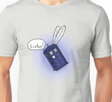 Flying Phone Box - N.A.V.I. Unisex T-Shirt